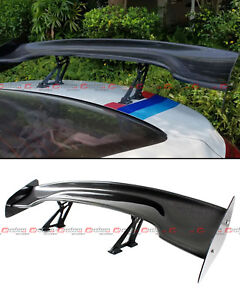 Universal 57 Real Carbon Fiber Adjustable Gt Style Gt Rear Trunk Spoiler Wing