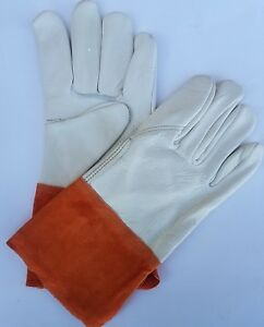 Memphis 4950lb Select Grade Grain Leather Mig tig Welding Gloves 1 Dozen
