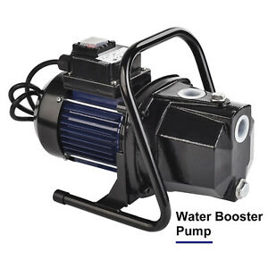 1200w 1000gph 1 Shallow Well Water Booster Pump Home Garden Irrigation