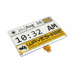 640x384 7 5inch E ink Raw Display Spi Yellow Black White Three color No Pcb