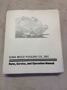 Imt Parts Service And Operation Manual For Model 12 89 Crane