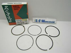 Kubota Piston Ring Set Wg600 Wg750 Part 12691 21053