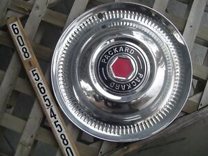 1952 52 Packard Deluxe Sedan 200 250 300 Mayfair Patrician Hubcap Wheel Cover