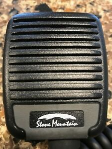 Stone Mountain Phoenix Radio Speaker Mic Pjrn2lxx ve For Harris m a com