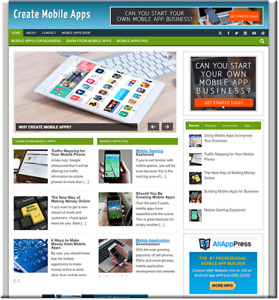 Create Mobile Apps Turnkey Website Business Earn From Affiliate Adsense