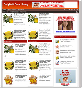 Pearly Penile Papules Turnkey Website Business Earn From Affiliate Adsense