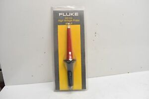 Fluke High Voltage Probe 80k 6 6000 Volts In Package W Instructions Manual