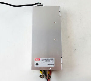 Mean Well Se 1000 24 100 120vac Single Output Power Supply 24v 41 7a 50 60ghz