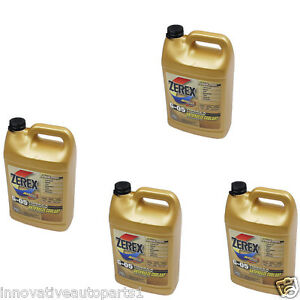 4 Gallon Zerex G05 Yellow Engine Coolant Antifreeze For Land Rover Jaguar Toyota