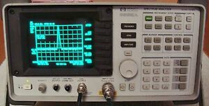 Hp Agilent Keysight 8592a 22 Ghz Spectrum Analyzer W Opt 023 Nist Calibrated