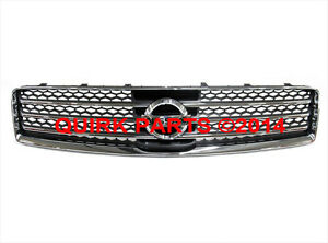 2009 2011 Nissan Maxima Front Chrome Radiator Grille Emblem Oem New Genuine