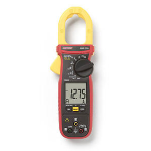 Amprobe Amp 320 600a Ac dc Trms Clamp Multimeter With Motor Testing