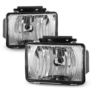 04 12 Chevy Colorado Gmc Lt Canyon Replacement Front Bumper Driving Fog Light