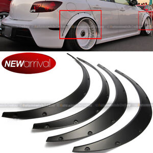 Will Fit Corolla Wheel Fender Flares Wide Body Flexible Abs Plastic Universal