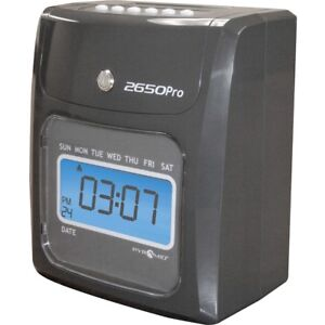 Pyramid 2650 6 column Time Clock Card Punch stampunlimited