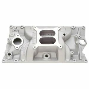 Edelbrock 7116 Small Block Chevy Vortec Performer Rpm Dual Plane Intake Manifold