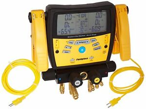 Fieldpiece Sman460 Wireless 4 port Digital Manifold With Micron Gauge