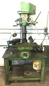 Jet 16 Drilling Milling Machine With Stand