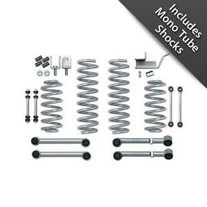 Rubicon Express 3 5 Super Ride Short Arm Lift Kit W Mono Tube Shocks Re8005m