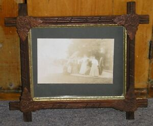 Old Black Forest Adirondack Floral Corners Gettysburg Photo Picture Frame 8 X 10