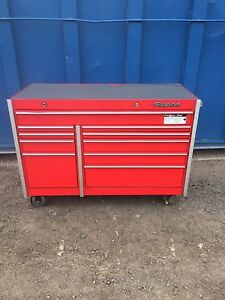 Snap On Tool Box Genuine Original Red 54 Long 24 Deep 40 Tall Roll Cart Chest