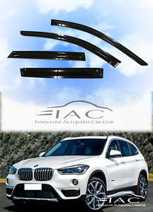 For Bmw X1 F48 15 19 Window Visor Vent Sun Shade Rain Guard Door Visor