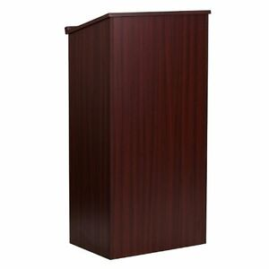 Sale Stand up Wood Lectern In Mahogany