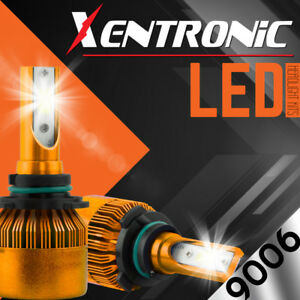 Xentronic Led Hid Headlight Kit 9006 White 2001 2006 Chevrolet Silverado 1500 Hd