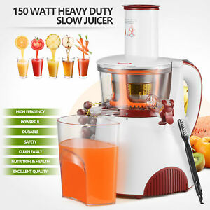 150w Commercial Heavy Duty Slow Juicer Machine Fruit Vegetable Vitamin Extractor
