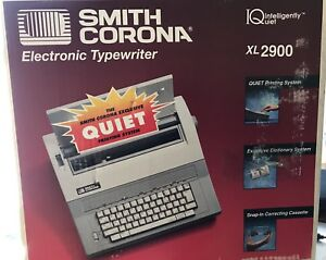 Smith Corona Electronic Typewriter Xl2900 intelligently Quiet box Manual Vgc