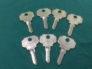 Bargman By Curtis In25 Key Blanks Set Of 7 Locksmith