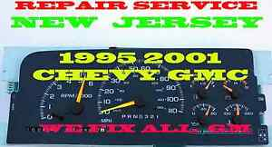 95 96 97 1998 1999 2000 2001 Chevrolet Tahoe Software And Odometer Calibration