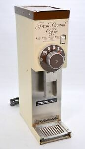 Grindmaster 850 Bulk Retail Coffee Bean Grinder 3 Lb Commercial Grocery Cream