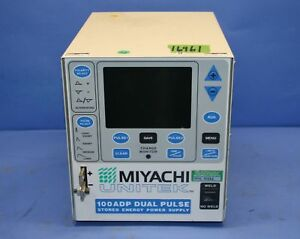1 Used Miyachi Unitek 100adp Dual Pulse Stored Energy Power Supply 16961