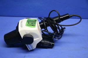 1 Used Stereozoom Sz 6 Photo Microscope With 42 12 46 Tv Adapter 17059