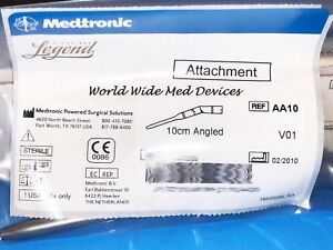 Medtronic Midas Rex Aa10 Angled 10cm Attachment New Sealed