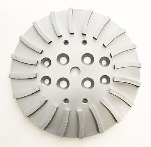 New 10 Supreme Turbo Concrete Grinding Head Plate For Floor Grinders The Best