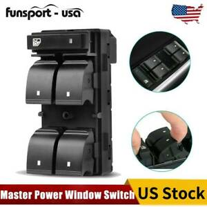 Left Driver Window Switch Power Master For Chevrolet Silverado Gmc Sierra 4 Door