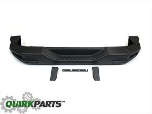 2007 2018 Jeep Wrangler Jk 10th Anniversary Rubicon Rear Bumper Oem New Mopar