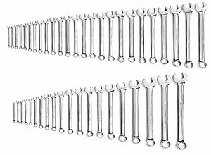 Gearwrench 81919 44 Pc 12pt Long Pattern Combination Wrench Set