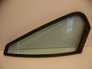 1976 Chevrolet Impala 4d Rear Door Glass Lh Ds Oem Caprice