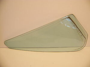 1976 Chevrolet Impala 4d Rear Door Glass Rh Ps Oem Caprice