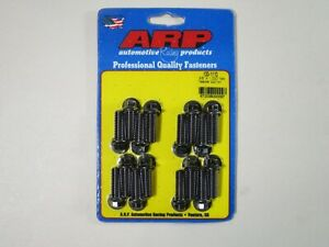 Arp 100 1110 Header Bolts Bbc Ford V8 5 16 Hex Head Black 1 00 Uhl