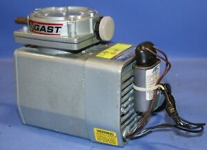 1 Used Gast Model Doa v1112 fb Series Oilless Diaphragm Pump