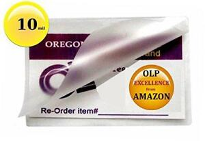 Qty 500 10 Mil Business Card Laminator Pouches 2 1 4 X 3 3 4 Laminating Sleeves