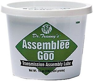 Dr Tranny Assemblee Goo Green Transmission Assembly Lube M465tg