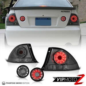 Rear End Bundle For 01 05 Lexus Is300 Sedan Led Trunk Outer Tail Lights Lamps