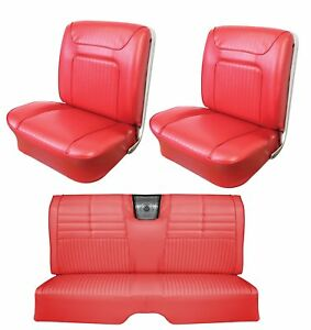 1964 Impala Ss Front Rear Seat Upholstery In Your Choice Of Oem Color