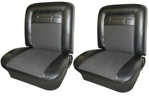 1962 Impala Front Bucket Seat Upholstery In Your Choice Of Oem Color