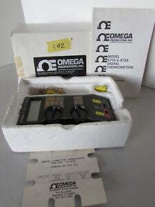 Omega 871a Digital Thermometer Usa K Style Thermocouple Reader